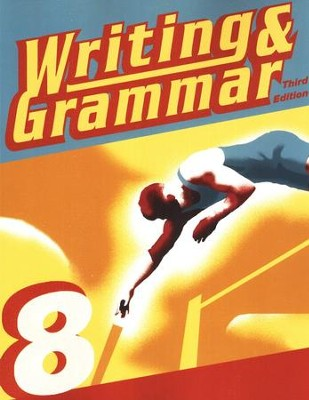 BJU Writing & Grammar Grade 8 Student Worktext (Updated Copyright) Third Edition  -