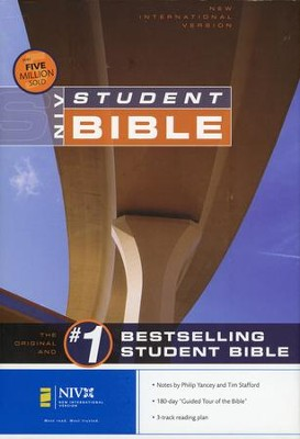 NIV Student Bible Revised Edition Hardcover--Damaged   -