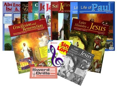 Grade 4 Bible Curriculum Kit   -