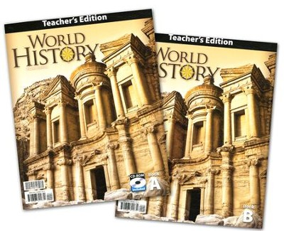 BJU World History Teacher's Guide, Grade 10, 4th Edition   -