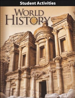 BJU World History Student Activities Manual, Grade 10, 4th Edition   -