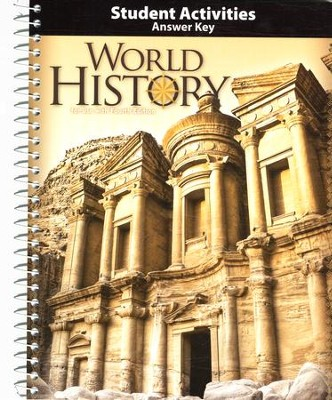 BJU World History Student Activities Answer Key, Grade 10, 4th Ed.   -