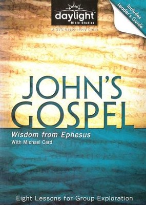 John's Gospel: Wisdom from Ephesus, DVD with Leader's Guide   -