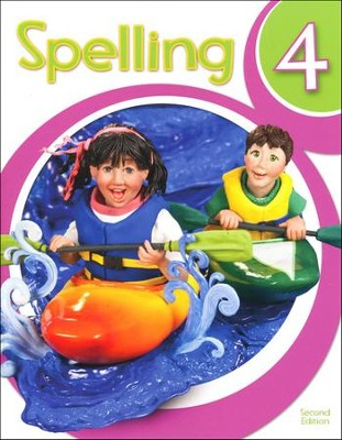 BJU Press Spelling Grade 4 Student Text (2nd Edition)  -