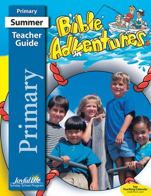 Bible Adventures Primary (Grades 1-2) Teacher Guide   -