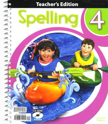 Spelling 4 Teacher's Edition with CD-ROM, 2nd Edition  -