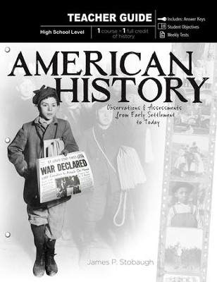 American History-Teacher: Observations & Assessments from Early Settlement to Today - eBook  -     By: James Stobaugh
