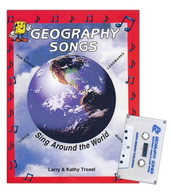 Audio Memory Geography Songs Cassette Tape, Workbook & Poster Kit    -     By: Kathy Troxel