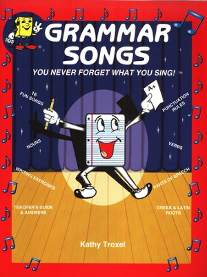 Audio Memory Grammar Songs Cassette Tape and Workbook Kit    -     By: Kathy Troxel