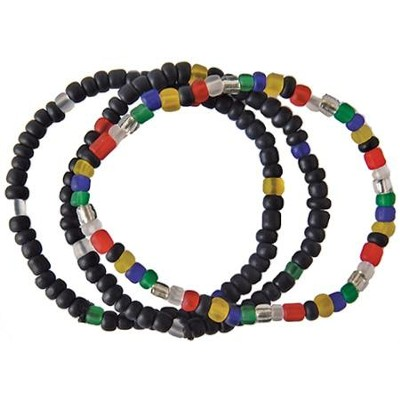 Salvation Bead Bracelets, Set of 3  -