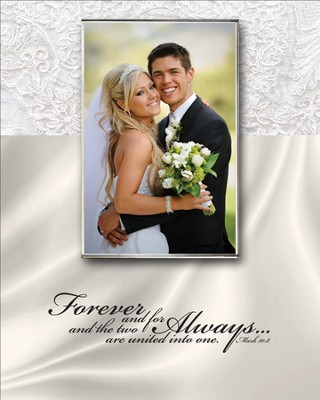 Forever and For Always Photo Frame  -