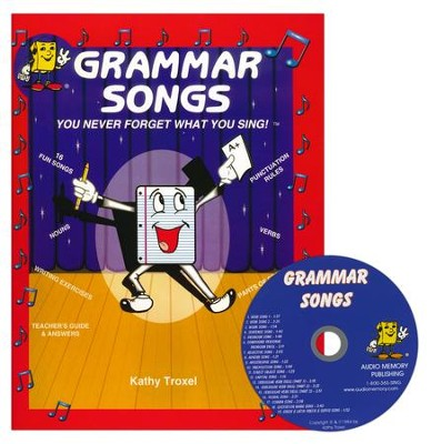 Audio Memory Grammar Songs CD & Workbook Set    -     By: Kathy Troxel