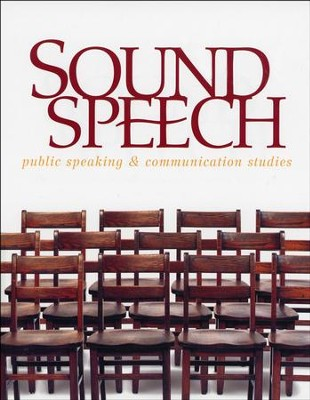 BJU Sound Speech: Public Speaking & Communication Studies,  Student Edition (Updated Copyright)  -