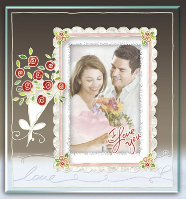 I Love You Photo Frame  -