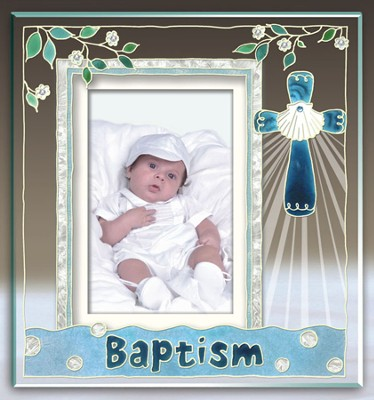 Baptism Photo Frame  -