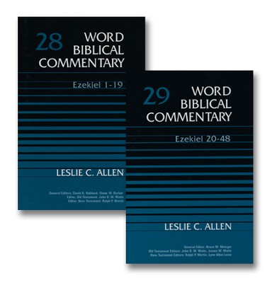Ezekiel: Word Biblical Commentary, 2 Vols. [WBC]  -     By: Leslie C. Allen