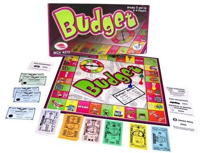 Budget Game Grades 5 and Up   -
