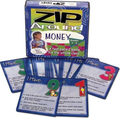 Zip Around Money Cards   -