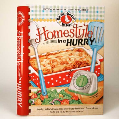 Homestyle in a Hurry Cookbook  -
