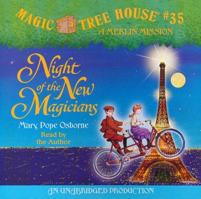Magic Tree House #35: Night of the New Magicians Unabridged Audiobook on CD  -     By: Mary Pope Osborne