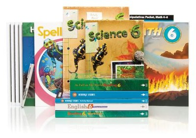 BJU Press Complete Grade 6 Kit  -