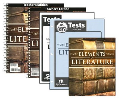 BJU Elements of Literature Grade 10 Homeschool Kit (2nd Edition)    -