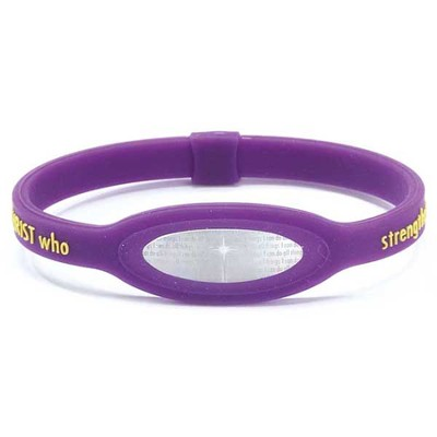 iPower Bracelet, Purple, Small  -