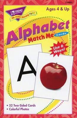 Alphabet Match Me Cards   -