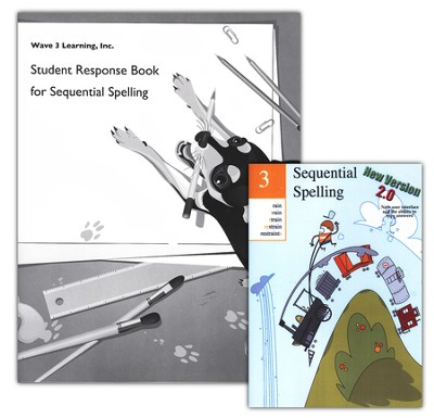 Sequential Spelling 3 DVD-ROM & Student Response Book   -