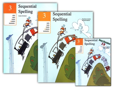 Sequential Spelling 3 DVD-ROM Kit w/ Teacher Gd. & Student Workbook   -