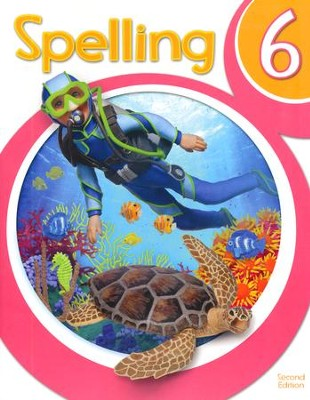 Spelling 6 Student Worktext (2nd Edition)   -