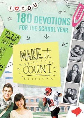 Make It Count: 180 Devotions for the School Year - eBook  -     By: Sue Christian