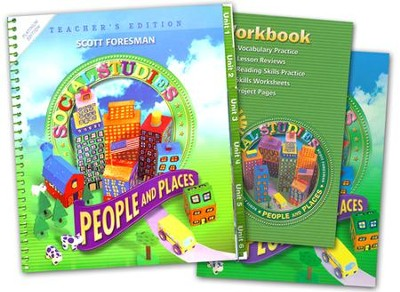 Scott Foresman Social Studies Grade 2 Homeschool Bundle   -