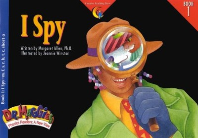 Dr. Maggie's Phonics Readers Book 1: I Spy   -
