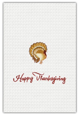 Happy Thanksgiving Kitchen Towel  -