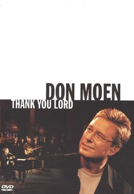 Thank You, Lord, DVD   -     By: Don Moen