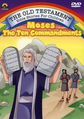 Moses and the Ten Commandments, DVD   -
