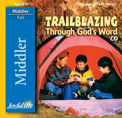 Trailblazing through God's Word Middler (Grades 3-4) Audio CD  -