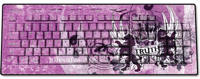 Truth Lion, John 14:6 USB Wireless Keyboard, Pink  -