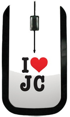 I Heart JC USB Wireless Mouse  -