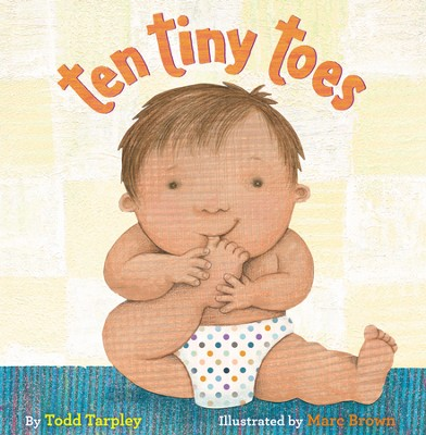 Ten Tiny Toes / Illustrated - eBook  -