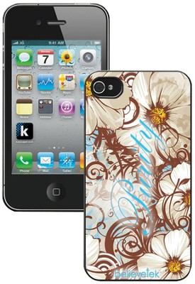 White Flower Purity iPhone 4 Case  -