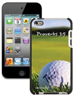 Golf, Proverbs 3:5 iPod 4G Case  -