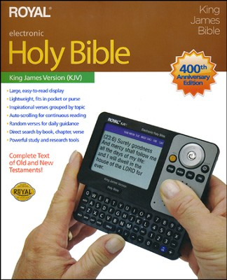Royal KJV Electronic Reference Bible   -