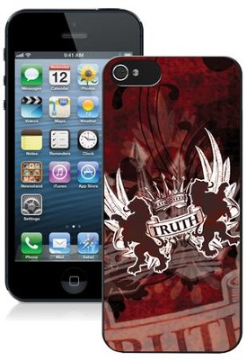 Truth Lion iPhone 5 Case, Red  -
