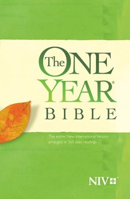 The One Year Bible NIV - eBook  -     By: Tyndale
