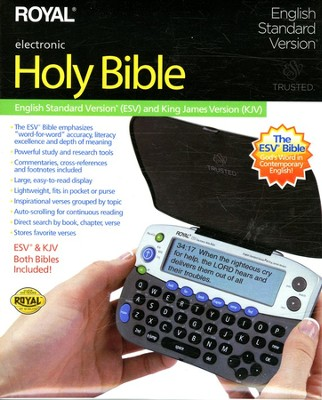 ESV/KJV Royal Electronic Bible    -