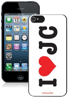 I Heart JC iPhone 5 Case  -