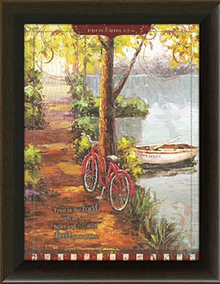 Trust In the Lord Framed Art  -