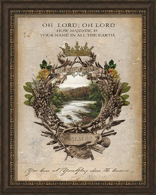 Oh Lord, Oh Lord Framed Art  -